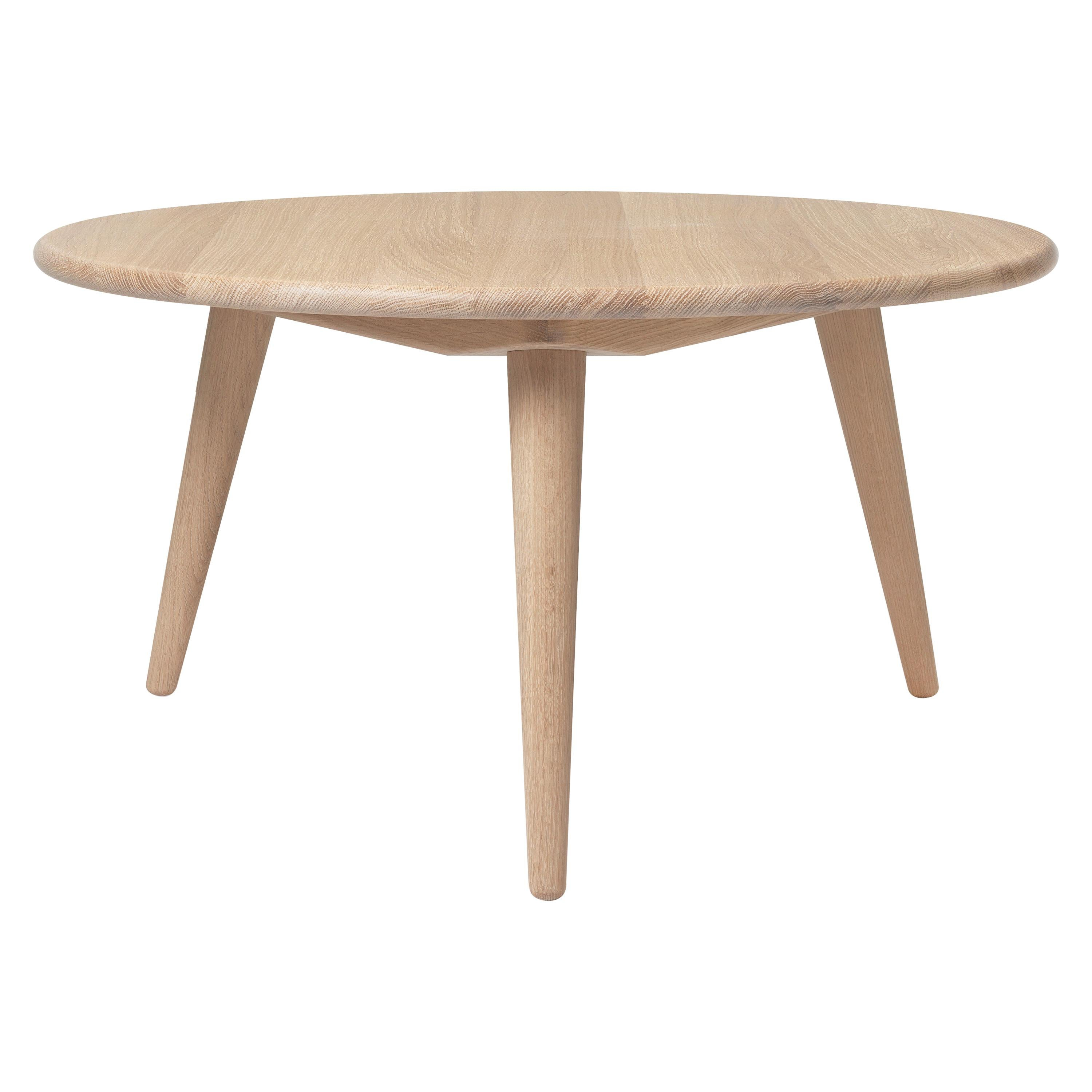 CH008 Small Coffee Table in Wood by Hans J. Wegner