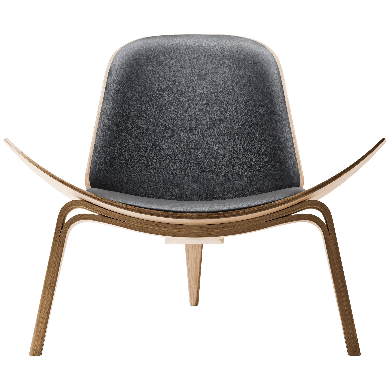 CH07 Shell Chair in Oiled Oak with Foam Seat by Hans J. Wegner