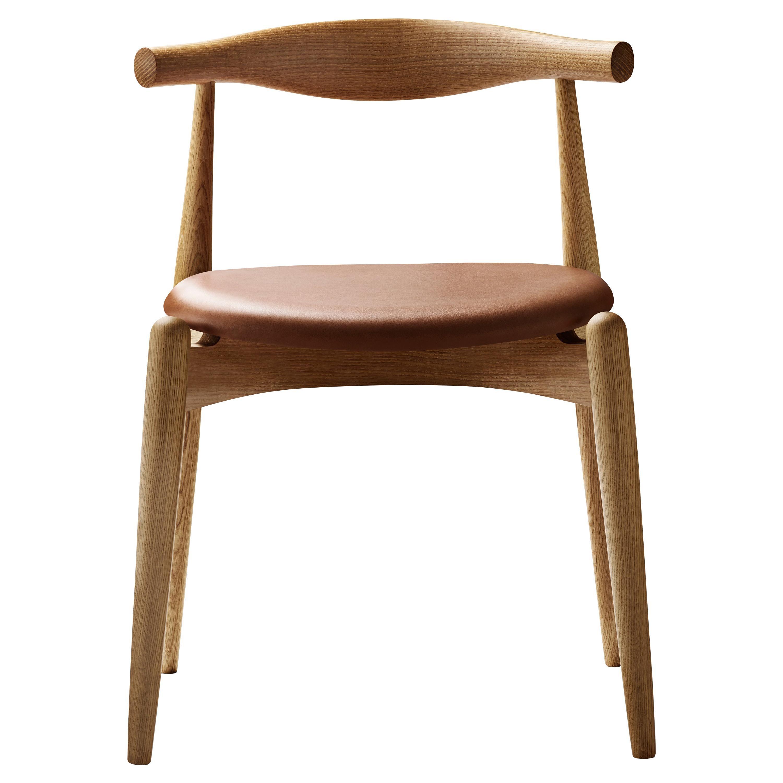 CH20 Elbow Chair in Oiled Oak by Hans J. Wegner