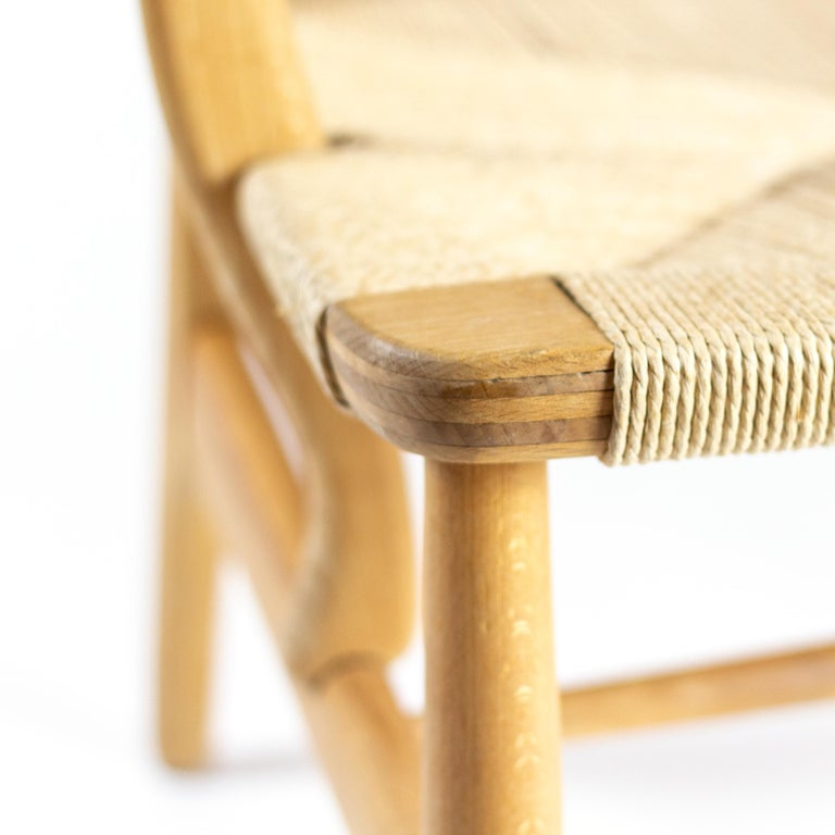 CH22 Lounge Chair by Hans Wegner for Carl Hansen, Denmark For Sale 2