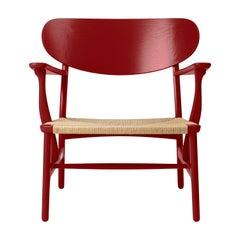 CH22 Lounge Chair in Oak / Falu by Hans J. Wegner & Ilse Crawford