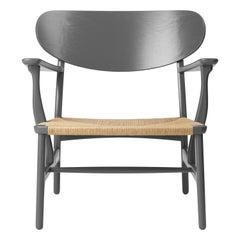 CH22 Lounge Chair in Oak / Slate by Hans J. Wegner & Ilse Crawford