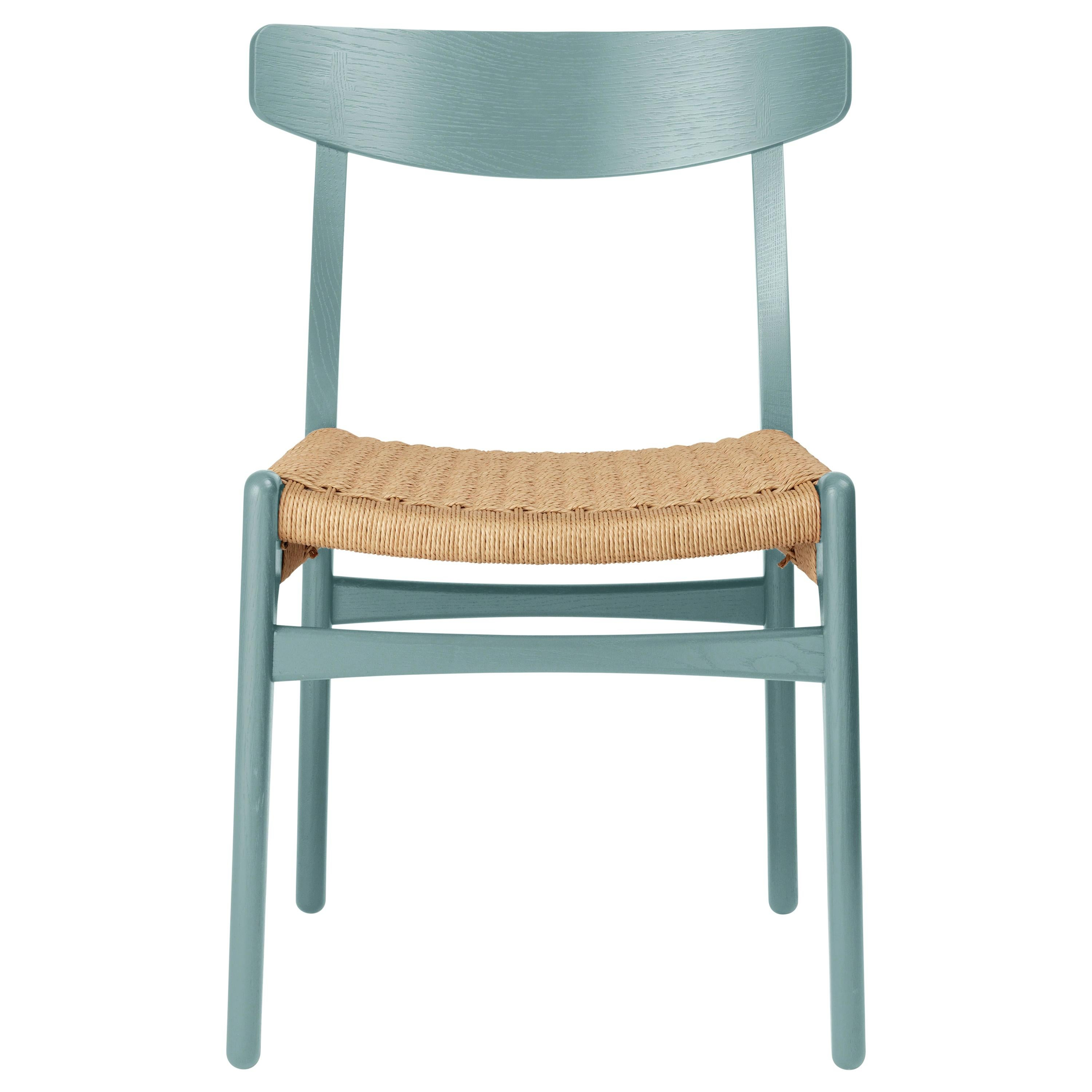 CH23 Dining Chair in Oak / Pewter by Hans J. Wegner & Ilse Crawford