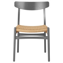 CH23 Dining Chair in Oak / Slate by Hans J. Wegner & Ilse Crawford