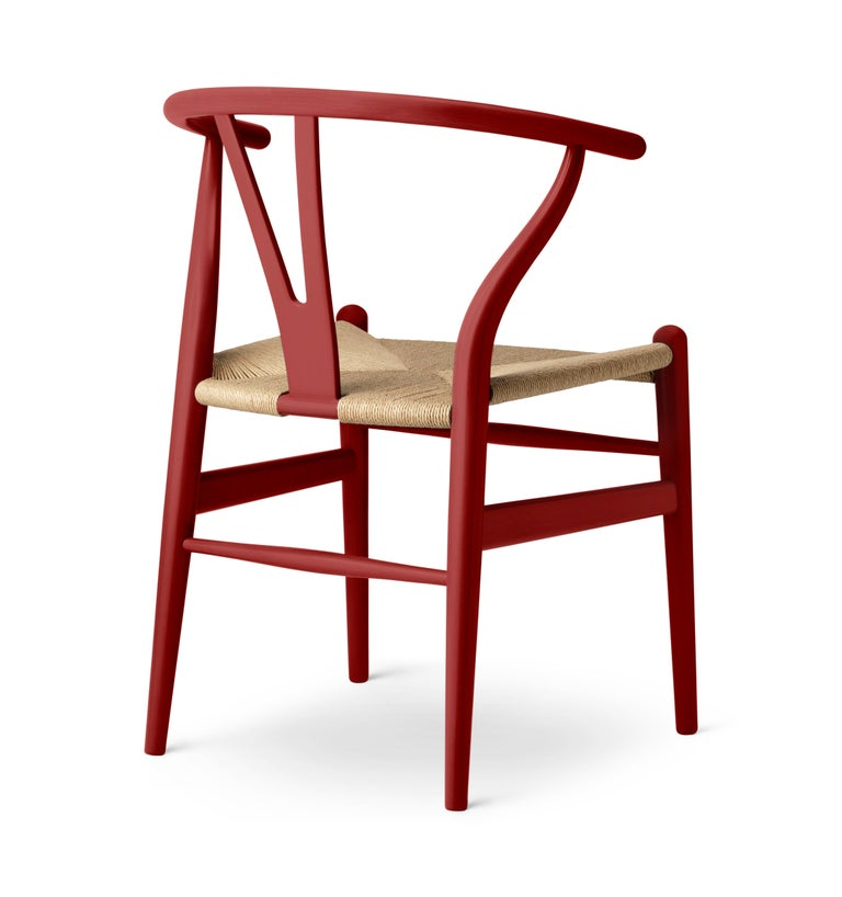 In celebration of the anniversary of Hans J Wegner's classic CH24 Wishbone Chair, designer Ilse Crawford reinterprets the master's work in a carefully curated palette of five deep and complex colors inspired by the expressionist works of Per