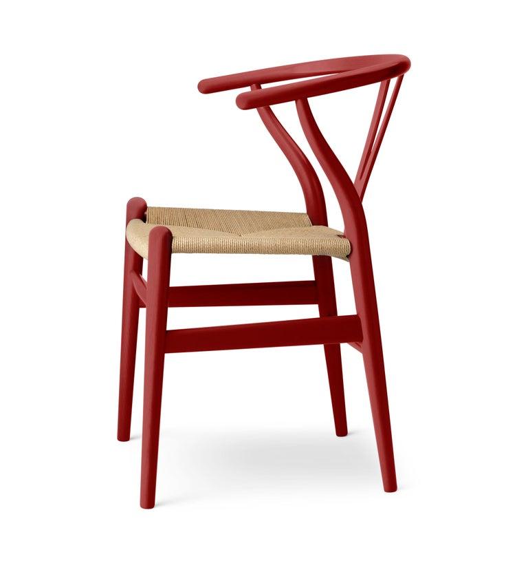 Modern CH24 Wishbone Chair in Oak / Falu by Hans J. Wegner & Ilse Crawford For Sale