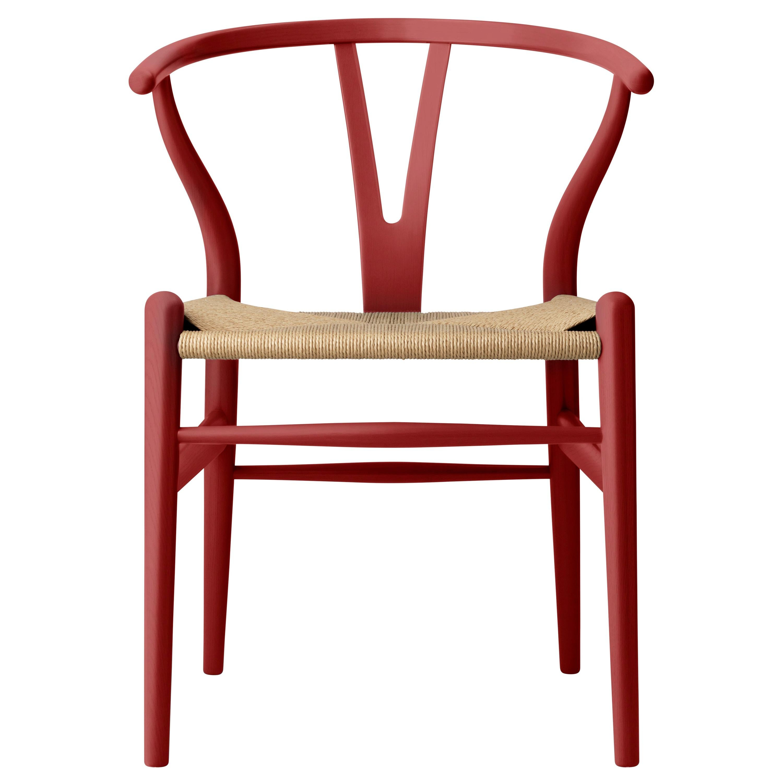 CH24 Wishbone Chair in Oak / Falu by Hans J. Wegner & Ilse Crawford