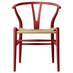 CH24 Wishbone Chair in Oak / Falu by Hans J. Wegner & Ilse Crawford