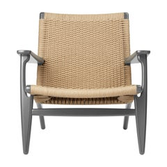 CH25 Armchair in Oak / Slate by Hans J. Wegner & Ilse Crawford