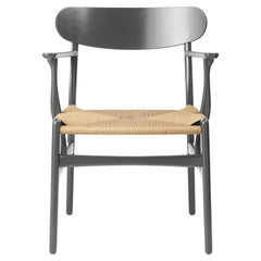 CH26 Dining Chair in Oak / Slate by Hans J. Wegner & Ilse Crawford