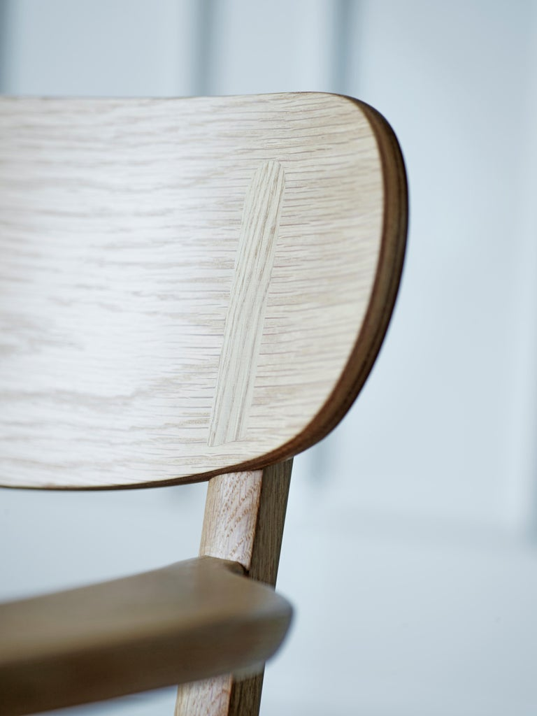 CH26 Dining Chair in Wood Finishes with Natural Papercord Seat by Hans J. Wegner For Sale 10