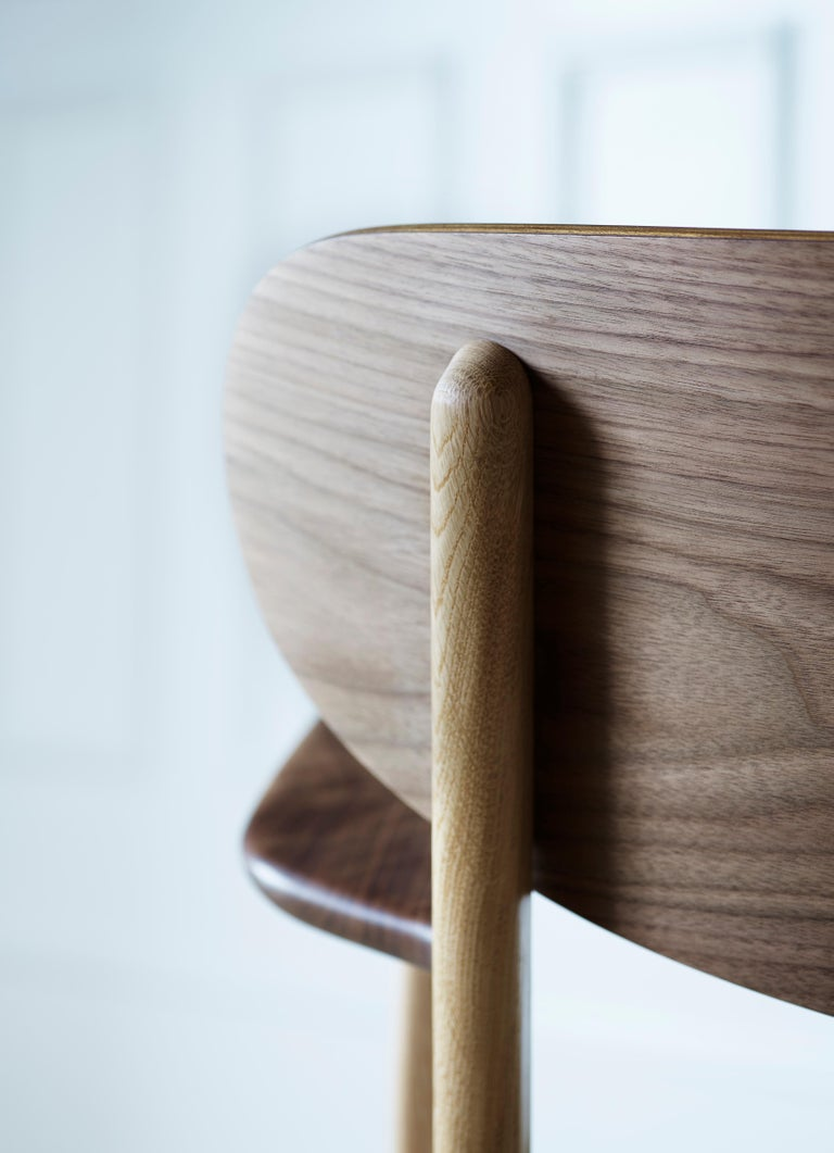 CH26 Dining Chair in Wood Finishes with Natural Papercord Seat by Hans J. Wegner For Sale 17