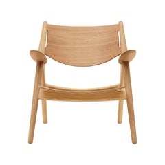 CH28T Lounge Chair in Wood Finish by Hans J. Wegner