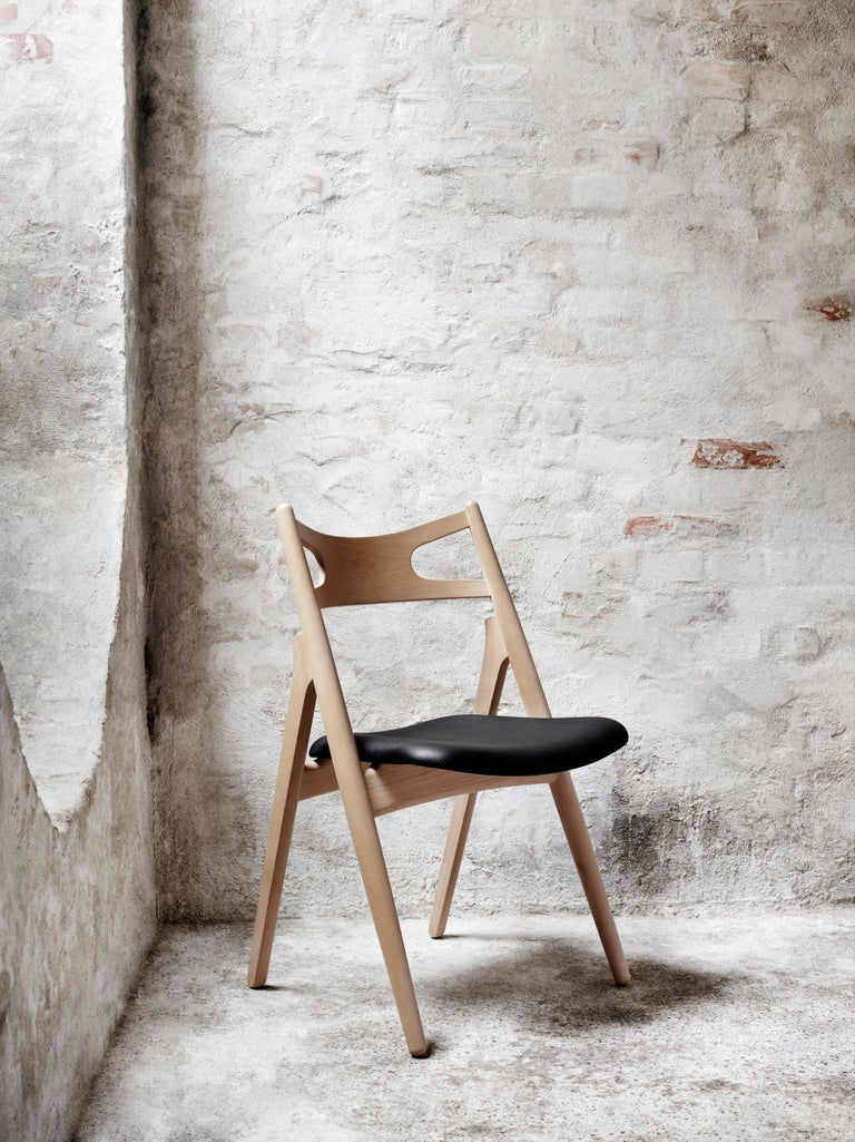 CH29P Sawbuck Chair in Oak Soap by Hans J. Wegner For Sale 9