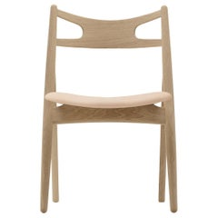 CH29P Sawbuck Chair in Oak Soap by Hans J. Wegner