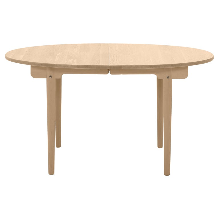 For Sale: Brown (Oak Oil) CH337 Dining Table in Wood Finish by Hans J. Wegner