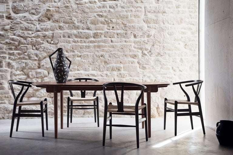 CH338 Dining Table in Wood Finish by Hans J. Wegner For Sale 6