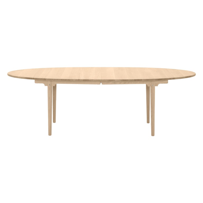 For Sale: Brown (Oak Oil) CH339 Dining Table in Wood Finish by Hans J. Wegner