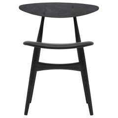 CH33P Dining Chair in Oak Painted Black by Hans J. Wegner