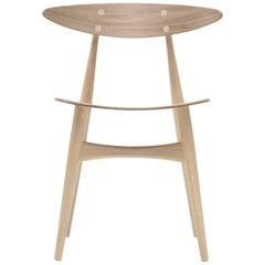 CH33T Dining Chair in Oak White Oil by Hans J. Wegner