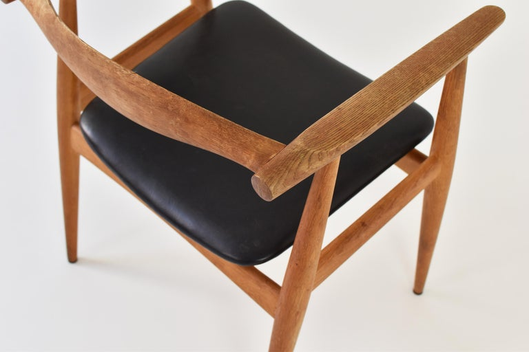 CH35 Chairs Designed by Hans Wegner for Carl Hansen and Son, Denmark, 1950s For Sale 1