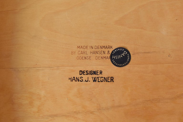 CH35 Chairs Designed by Hans Wegner for Carl Hansen and Son, Denmark, 1950s For Sale 2