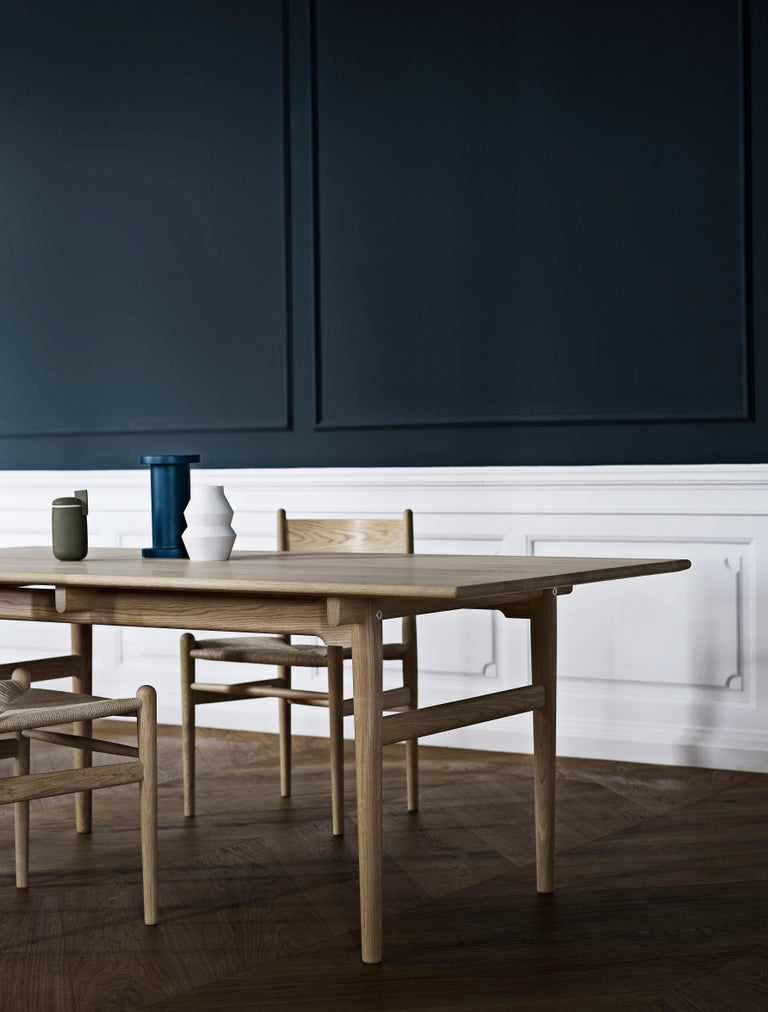 CH36 Dining Chair in Wood Finishes with Natural Papercord Seat by Hans J. Wegner For Sale 6