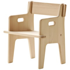 CH410 Peter's Chair in Untreated Beechwood by Hans J. Wegner