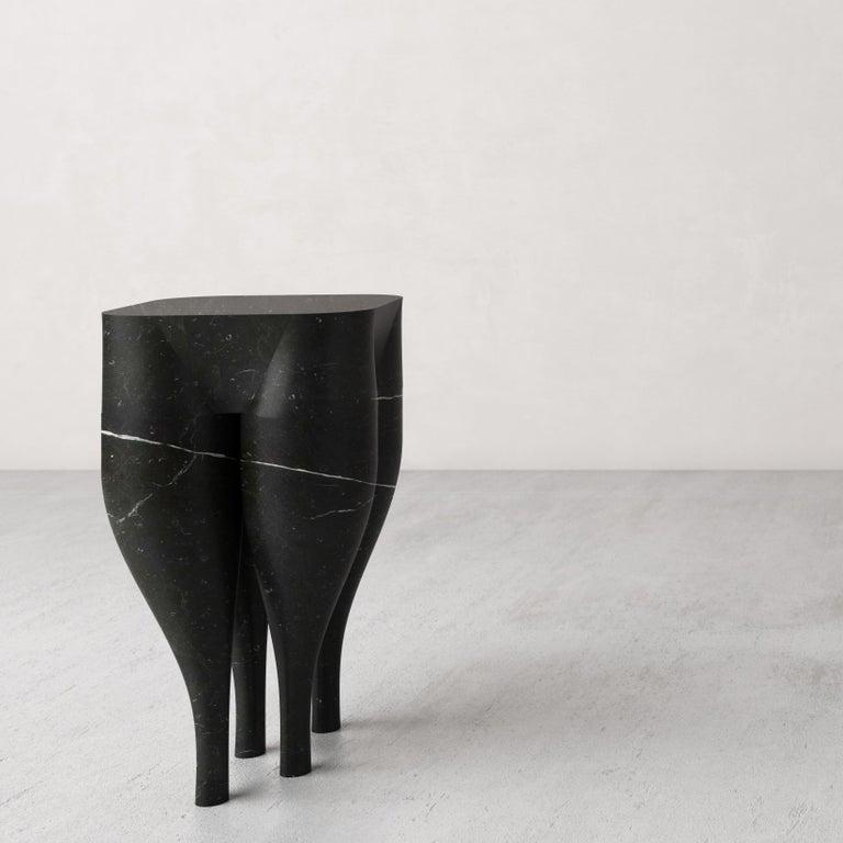 Marble Cha-Cha-Cha'  Stool by Pietro Franceschini For Sale