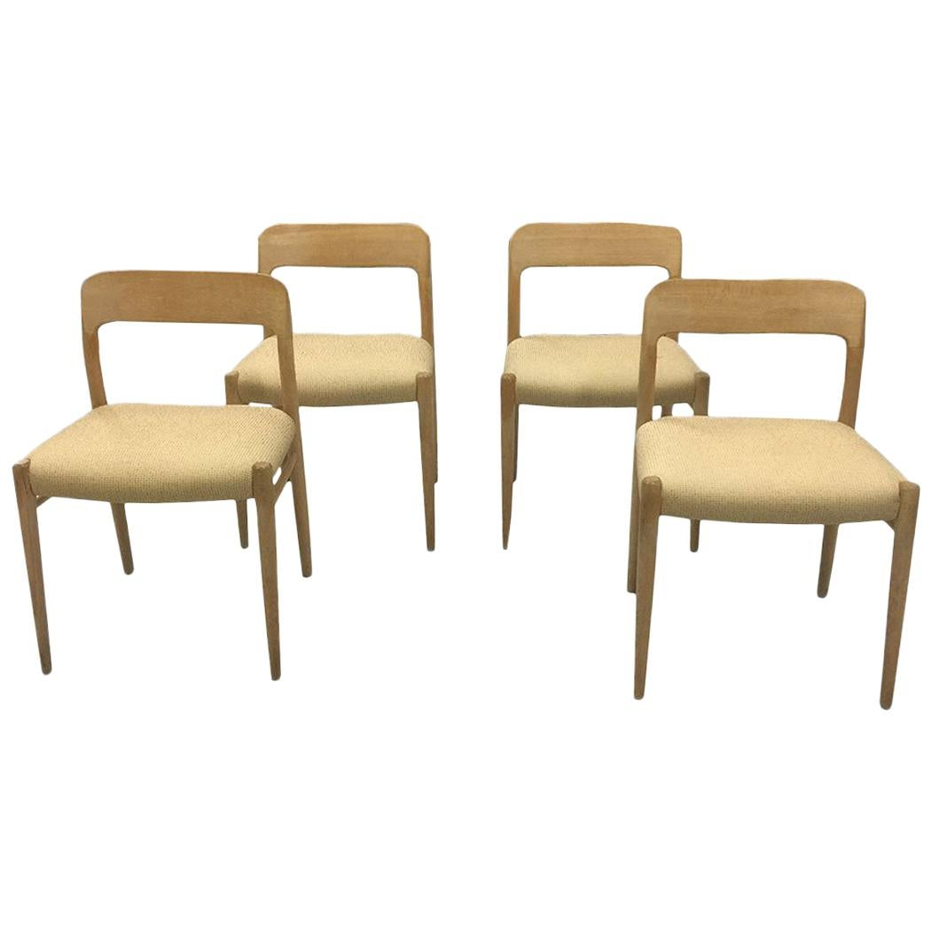 """""""Chair 75"""" Danish Dining Chair by Niels Otto Moller for J.L. Moller, 1968"""