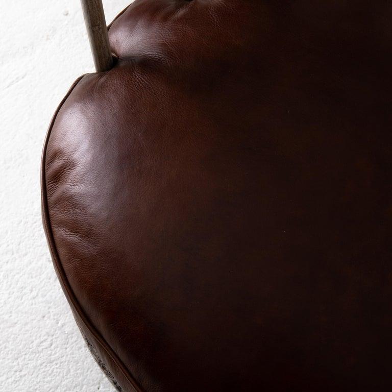 Chair Armchair Swivel Swedish Gustavian White, Sweden For Sale 4