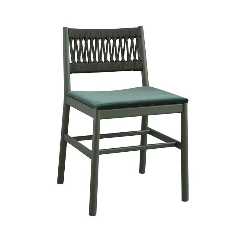 Chair Art, 0020-LE in Beechwood Painted and Wood Seat by Emilio Nanni For Sale 6