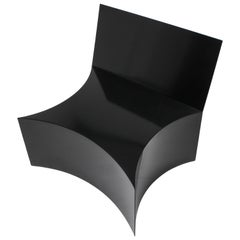 Chair by Bayny in Black Powder Coated Steel