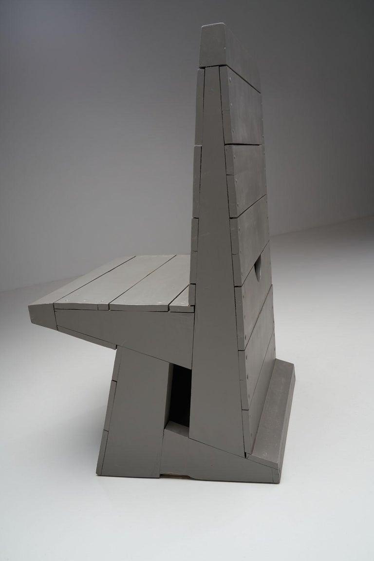 Chair by Dom Hans van der Laan, Netherlands, 1960s For Sale 5