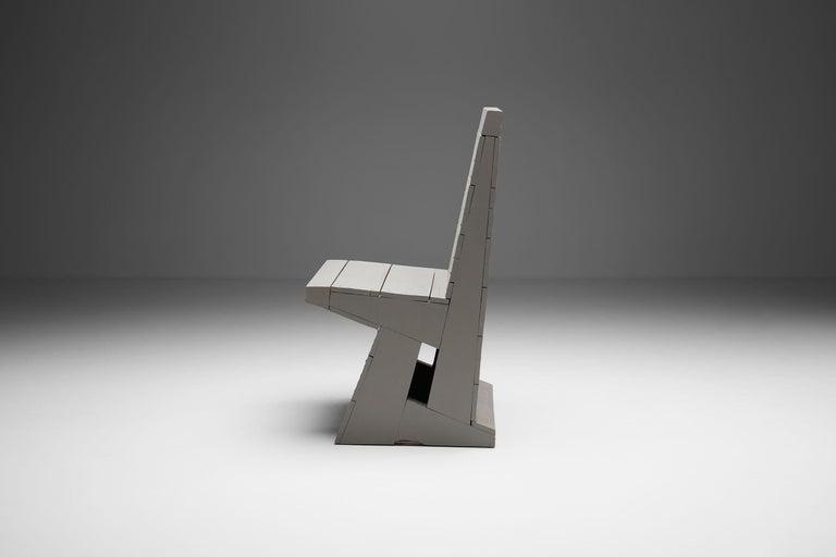Mid-Century Modern Chair by Dom Hans van der Laan, Netherlands, 1960s For Sale