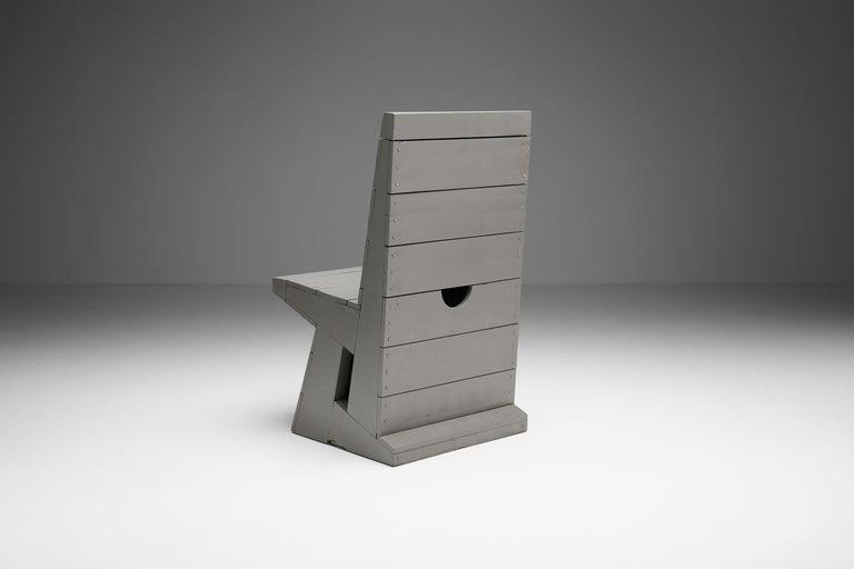 Chair by Dom Hans van der Laan, Netherlands, 1960s In Good Condition For Sale In Utrecht, NL