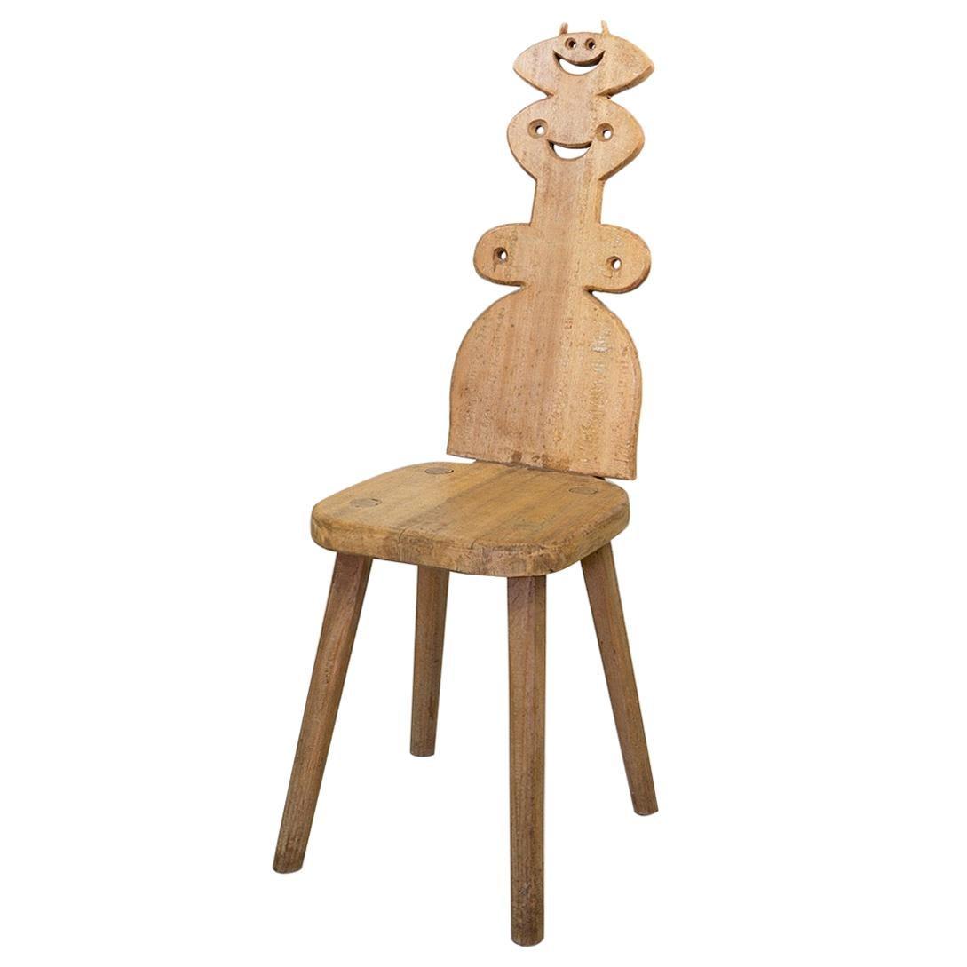 Chair by Roberto Sebastian Antonio Matta, 1970