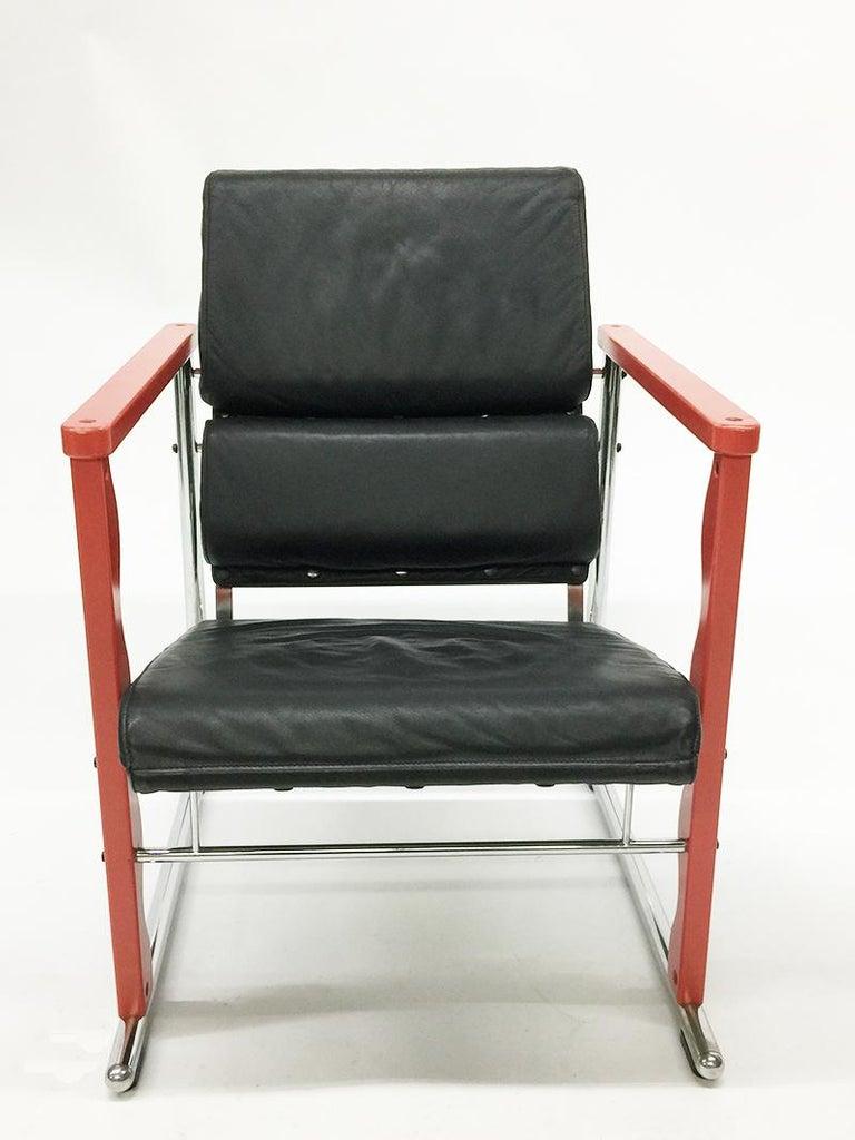 Finnish Chair by Yrjö Kukkapuro, Experiment Series, Finland, 1982 For Sale