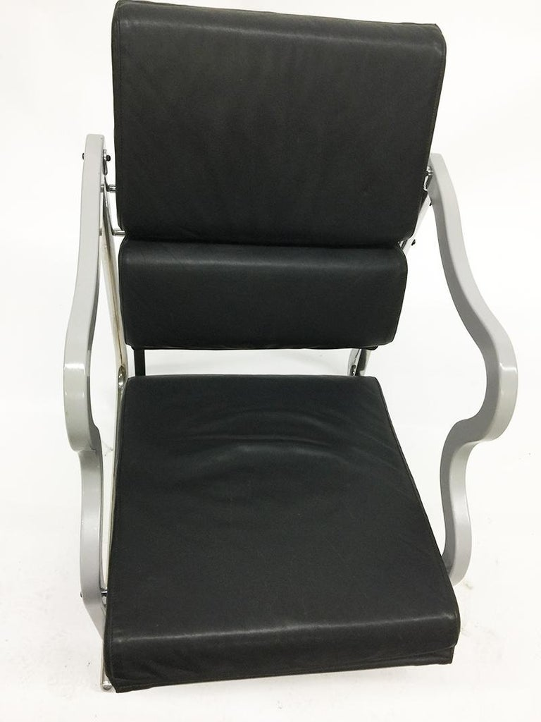 Leather Chair by Yrjö Kukkapuro, Experiment Series, 1982, Finland For Sale