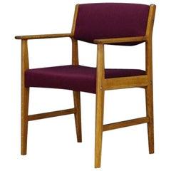Chair Danish Design Ash Midcentury Retro Armchair