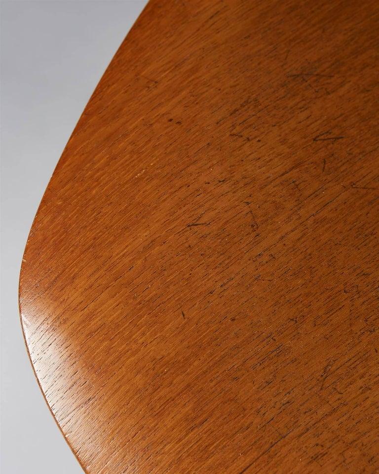 Steel Chair Designed by Osvaldo Borsani for Techno, Italy, 1950s For Sale