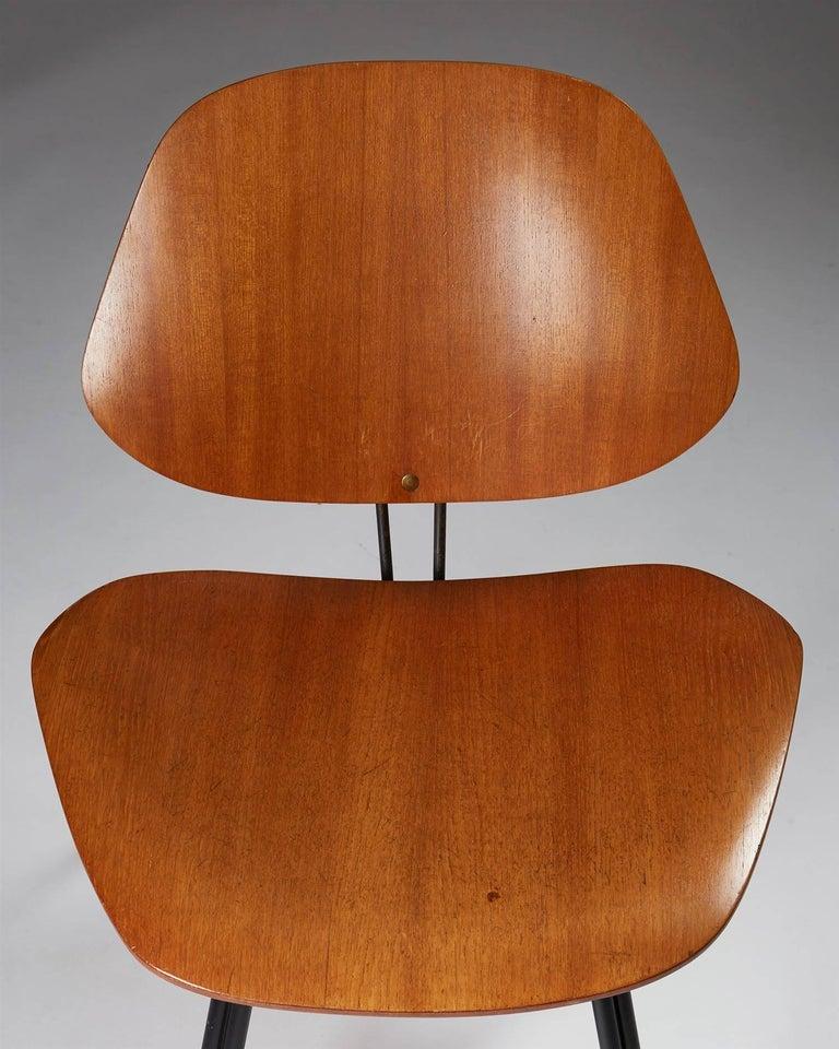 Chair Designed by Osvaldo Borsani for Techno, Italy, 1950s For Sale 1