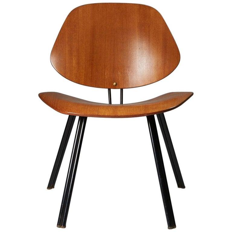 Chair Designed by Osvaldo Borsani for Techno, Italy, 1950s For Sale
