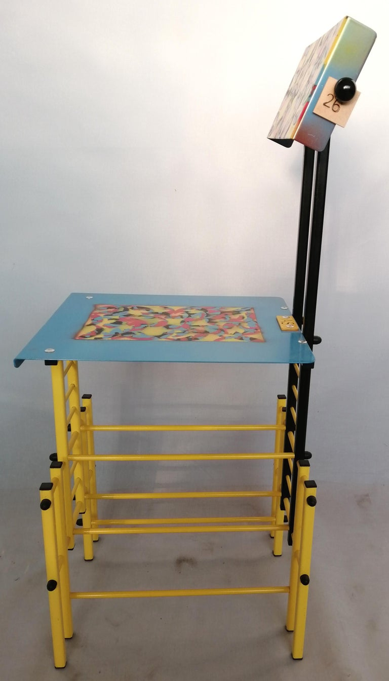 Hand-Crafted Chair For Sale