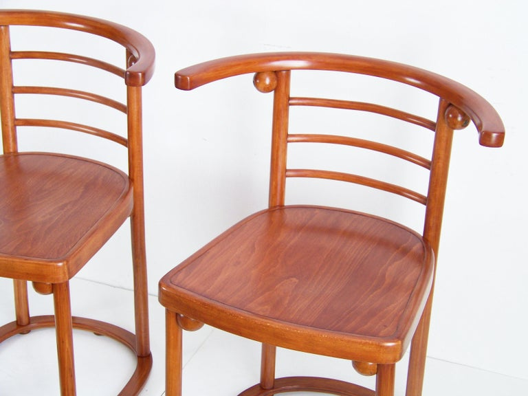 Art Nouveau Chair J&J Kohn Nr.728, Josef Hoffmann For Sale