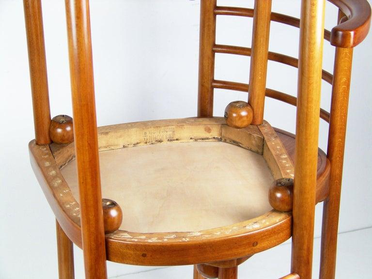 Chair J&J Kohn Nr.728, Josef Hoffmann For Sale 1