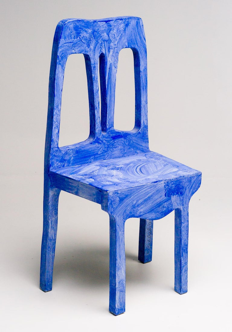 Dutch Chair Sculpture by Klaas Gubbels For Sale