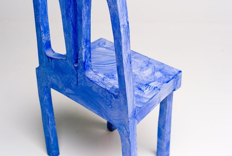 Contemporary Chair Sculpture by Klaas Gubbels For Sale