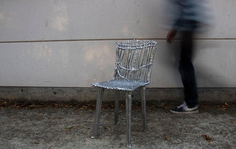 Modern Chair T003, Unique Piece by Studio Nicolas Erauw For Sale