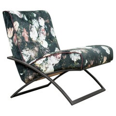 GHYCZY Chair Wave GP03, Ristretto Frame, Pellestrina Fabric